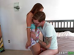 Sabrina Rey likes to suck a big meat stick at least once a d...